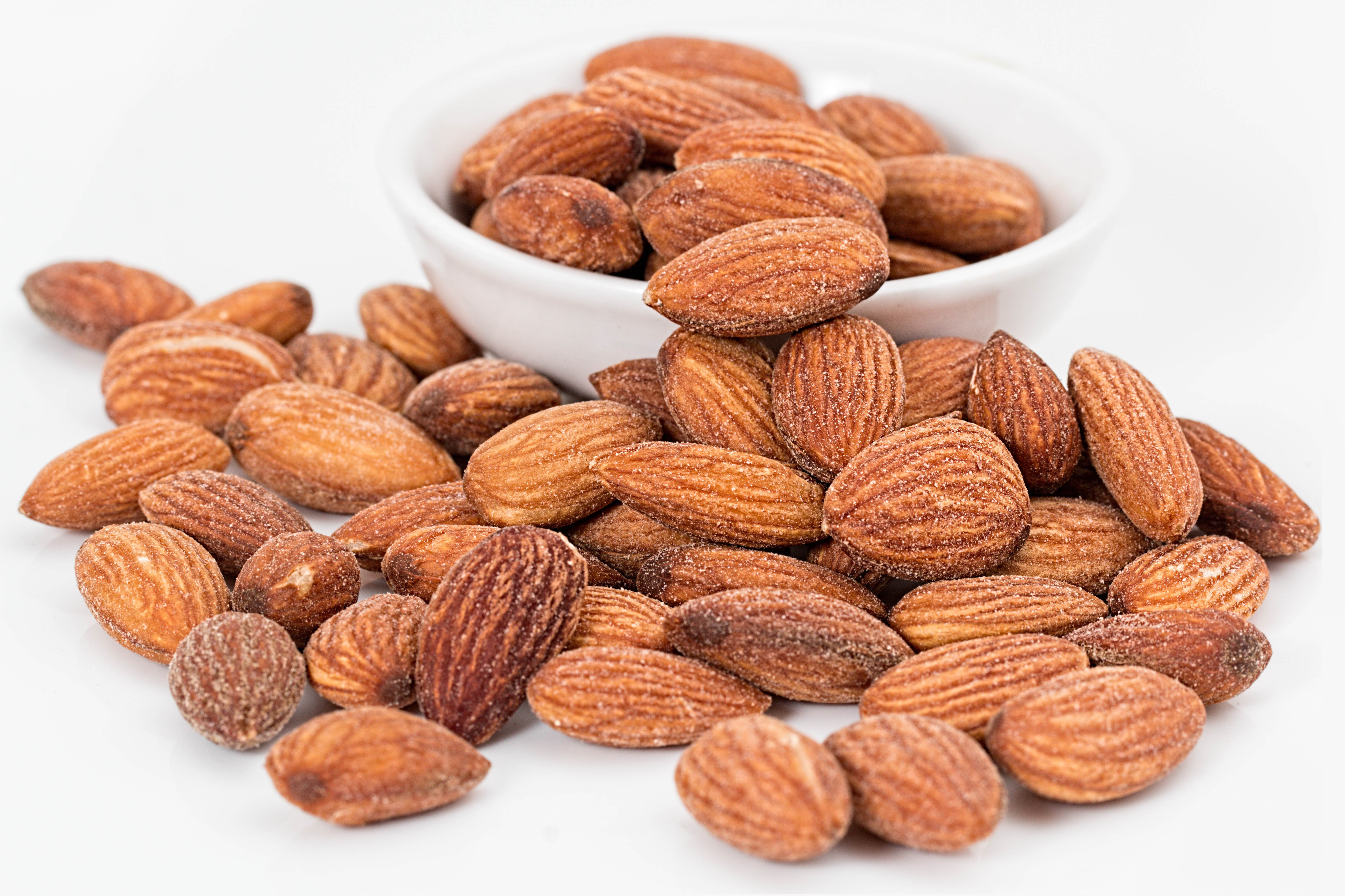 almonds,nuts,food,snack