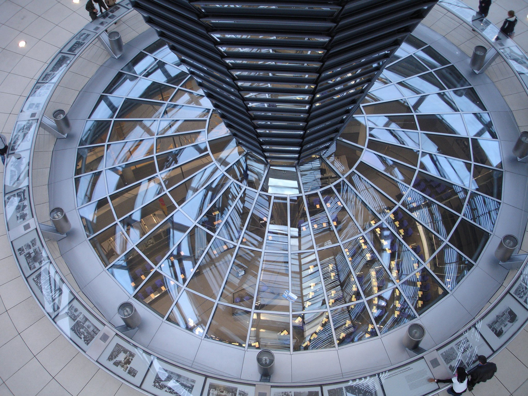 Reichstag, dome, glass, window